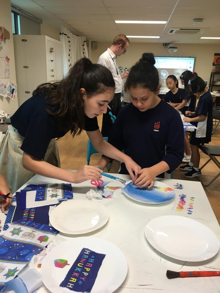 Chanukah Activities at SMMIS International School Singapore